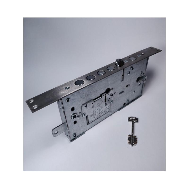 Zamek wpuszczany SECUREMME 2533 klucz piórowy